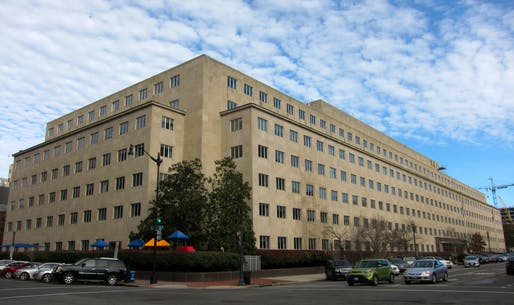 The Army Corps of Engineers has developed a standard plan for converting hotels into makeshift hospital wards. Shown: The Army Corps headquarters in Washington, D.C. Image courtesy of Wikimedia Commons / AgnosticPreachersKid.