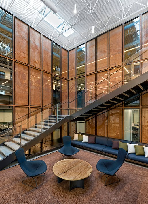 Large Office of the Year: Uber Advanced Technologies Group, Pittsburgh by Assembly Design Studio. Image: Frame Awards.