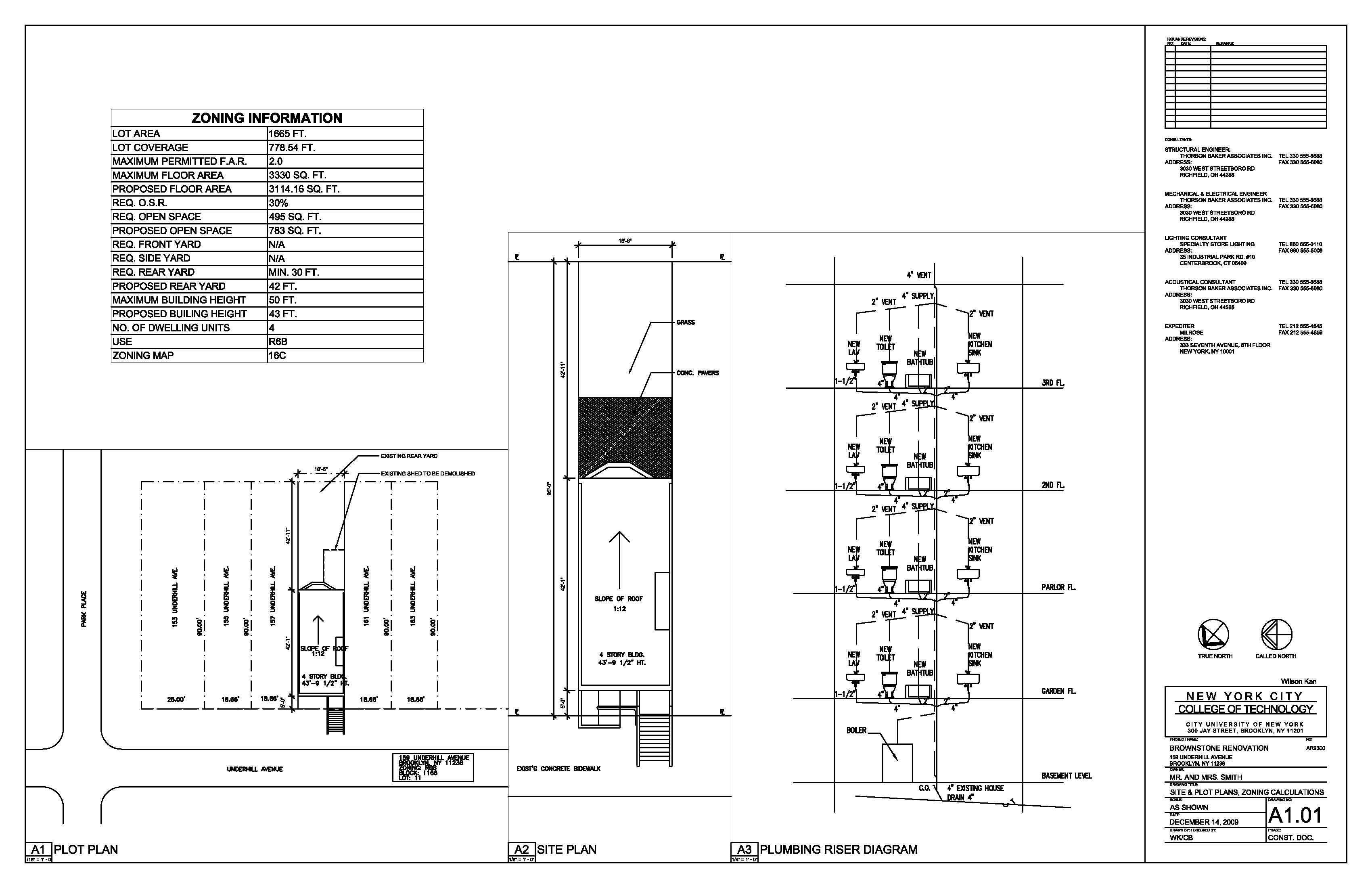 brownstone renovation wilson kan archinect status school project location brooklyn ny us