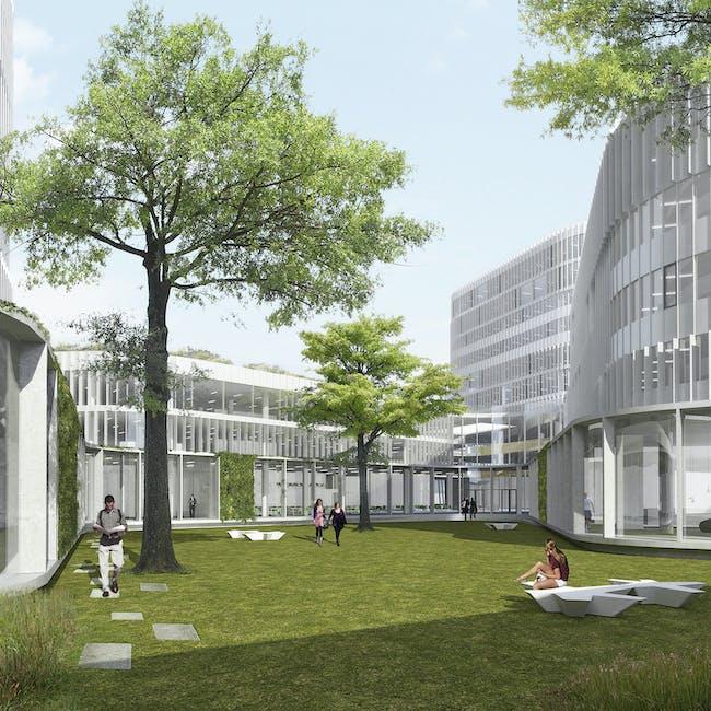 Campus 54. Photo credit: Pelletier de Fontenay.