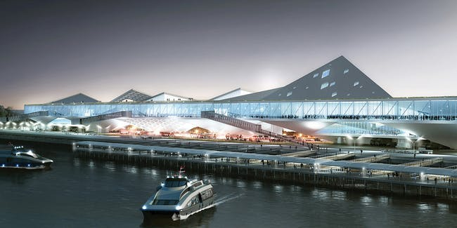 3RD PRIZE: Lorcan O'Herlihy (LOHA) Architects / Lorcan O'Herlihy with EDS International Inc / Yuan Liang Tsai (Taiwan)