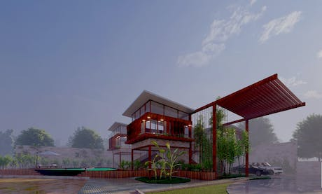 Farm House Project at Gujarat, India
