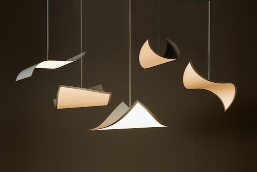100% Design 2016: OLED Light by LG Display, designed by Ron Arad