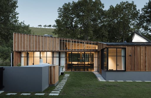 Housing - Matakana House by Glamuzina Architects and Paterson Architecture Collective in association.