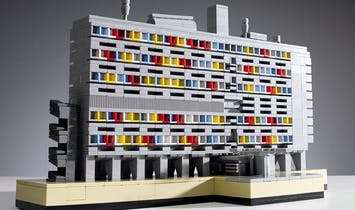 Legos, architecture, and miniature worlds