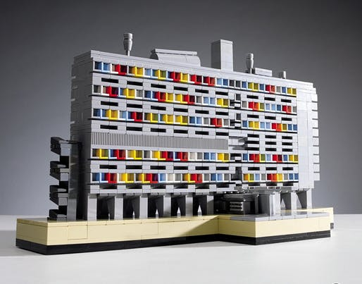 From the cover of Tim Alphin's book, The Lego Architect.
