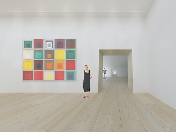 Through the Galleries