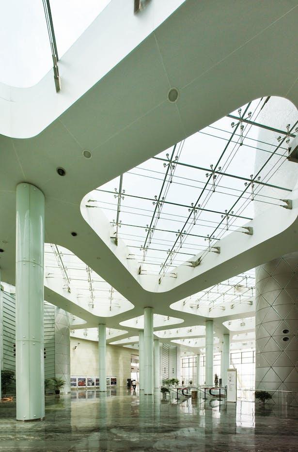 Wuxi Grand Theatre Hunter Douglas Archinect