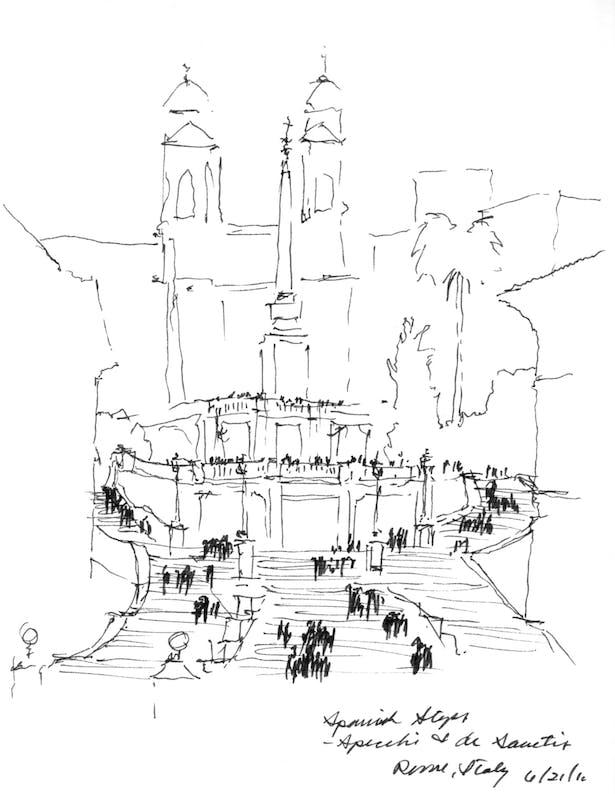 Scalinata della Trinità dei Monti (Spanish Steps)