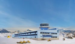 Brief summer season allows construction on British Antarctic Survey's new Discovery Building