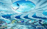 Shohei Shigematsu of OMA reveals Miami Beach's first underwater sculptural park and artificial reef, The ReefLine