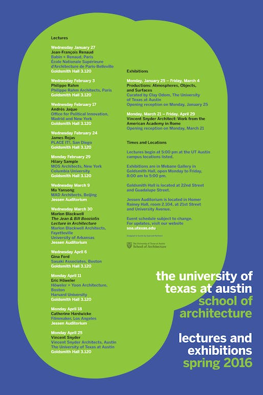 Poster via soa.utexas.edu.