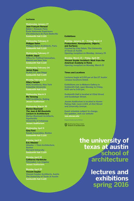 Poster via soa.utexas.edu.