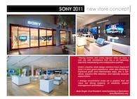 Sony New Store Design Rollout