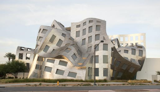 Luo Ruvo Center for Brain Health by Gehry Partners. 2010. Wikimedia Commons via user Monster4711.