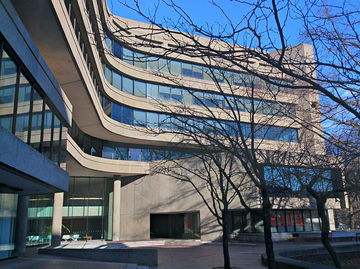 AIA National Headquarters in Washington, DC. Photo by Payton Chung. Creative Commons.