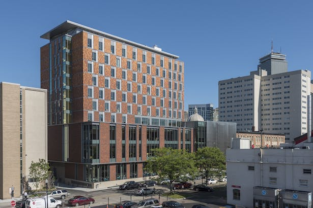 New England Conservatory Student Life and Performance Center. Photo credit: Peter Vanderwarker