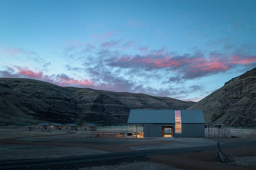 Cottonwood Canyon Experience Center, Signal Architecture + Research. Photo: Gabe Border.
