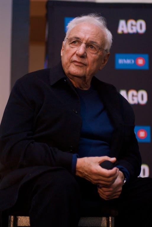 "Frank Gehry. Photo: Taku/<a href=""https://flic.kr/p/5BRWTC"">Flickr</a>"