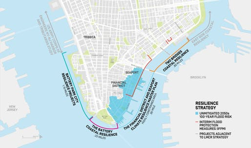 Image from the Financial District and Seaport Climate Resilience Master Plan. Source: NYC Mayor's Office