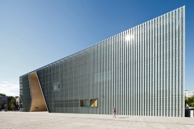 POLIN Museum of the History of Polish Jews in Warszawa, Poland by Architects Lahdelma & Mahlamäki. Photo: Pawel Paniczko.