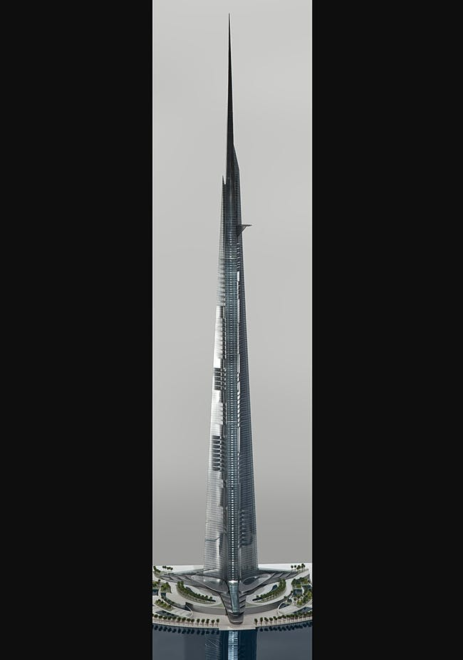 Model photo (Image: Adrian Smith + Gordon Gill Architecture)