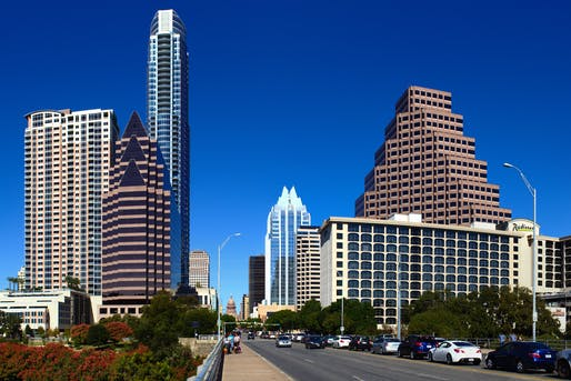 "Downtown Austin (2012). Image © Kumar Appaiah/<a href=""https://flic.kr/p/doELqU"">Flickr</a>"