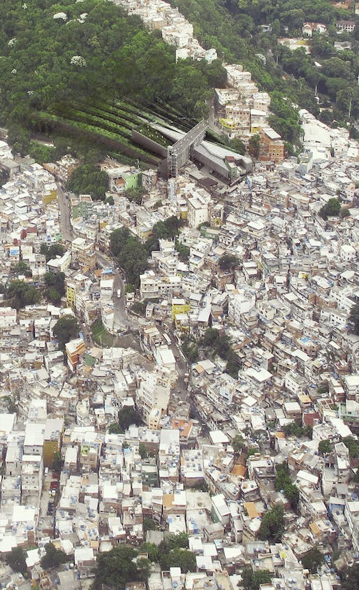 "<a href=""https://archinect.com/miles/project/favela-recycling-center"">Favela Recycling Center</a> in Rio de Janeiro, Brazil by <a href=""https://archinect.com/miles"">Miles Kozatch</a>"