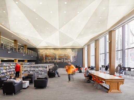 Kitchener Public Library by LGA Architectural Partners. Photo: Ben Rahn/A-Frame Inc.
