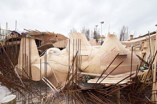 Image courtesy of Agovision/MAD Architects.
