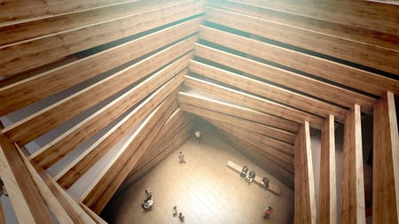 Kengo Kuma-designed art museum in Turkey. Image courtesy of Odunpazarı Modern Museum (OMM).