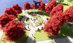 New York City is moving its planned COVID memorial from Battery Park after protests