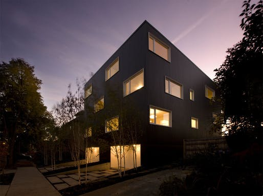 Z-Haus by Waechter Architecture, located in Portland, OR. Image: Waechter Architecture.
