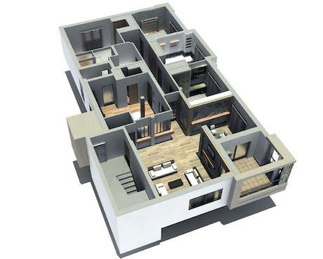 construction et decoration d un appartement