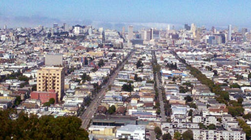 San Francisco's Mission District, where an estimated 400 homeless people in that area will be moved to the new homeless-aid Navigation Center. (Photo via Wikipedia)