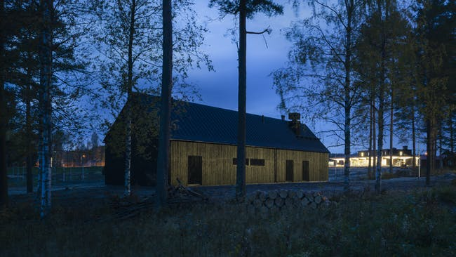 Rest Area Niemenharju. Image: Marc Goodwin