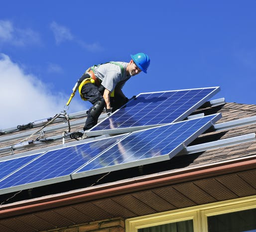 Beginning in January 2020, solar panels won't be optional but mandatory for most new homes in California. Photo: Greens MPs/Flickr