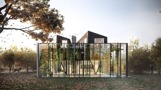 Exterior View of the Perched House. Kassel, Germany (Image courtesy of Felipe Correa, Somatic Collaborative)
