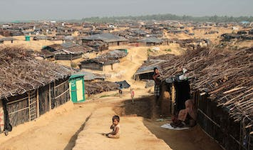 When a refugee camp becomes a semi-permanent settlement
