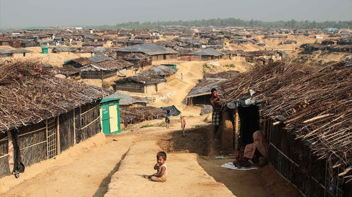 Kutupalong Refugee Camp in Bangladesh is home to more than a half-million Rohingya Muslim refugees. Photo: John Owens.