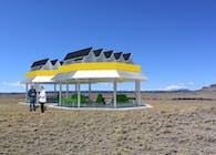 The Solar Breeze Oasis Pavilion
