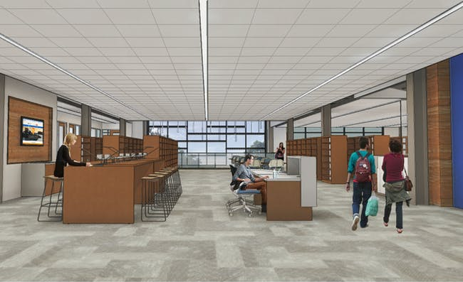 Midlands Technical College Constructing New Learning Resource Center On Beltline Campus Gallery Archinect