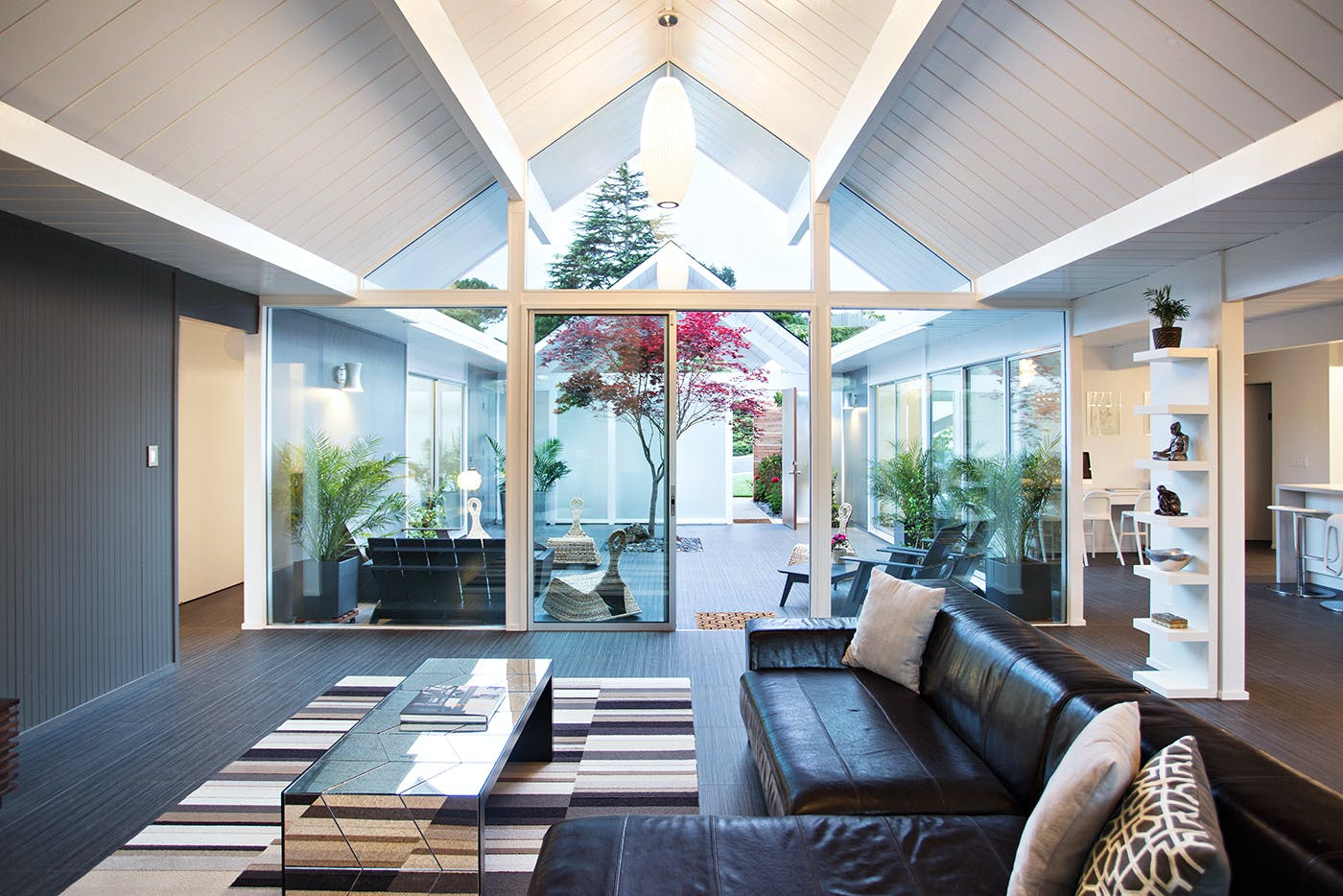 Double Gable Eichler Remodel | Klopf Architecture | Archinect