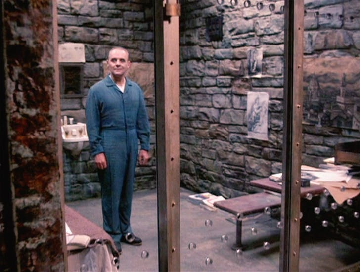 Hannibal Lecter, The Silence of the Lambs. Image via pyxurz.blogspot.com.