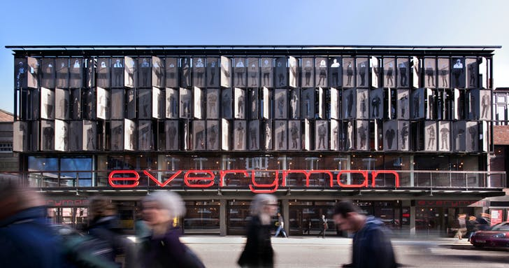 Everyman Theatre facade. Photo by Philip Vile.