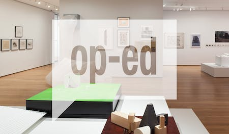 Installation view of Endless House: Intersections of Art and Architecture, The Museum of Modern Art, June 27, 2015–March 6, 2016. © 2015 The Museum of Modern Art. Photo: Jonathan Muzikar