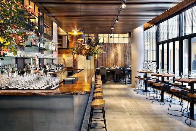 L'Apicio Restaurant (interior design) by workshop/apd. Photo: Donna Dotan Photography