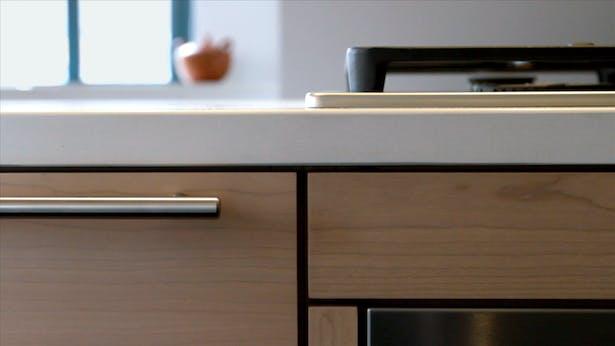 kitchen cabinet detail