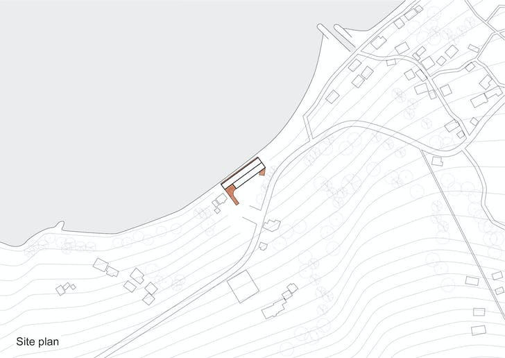 Site map. Image courtesy of CASE-REAL