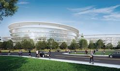 Apple's next, HOK-designed Silicon Valley spaceship revealed